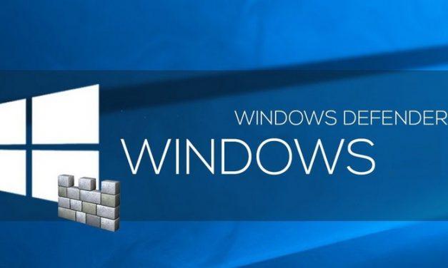 Le point sur Windows Defender