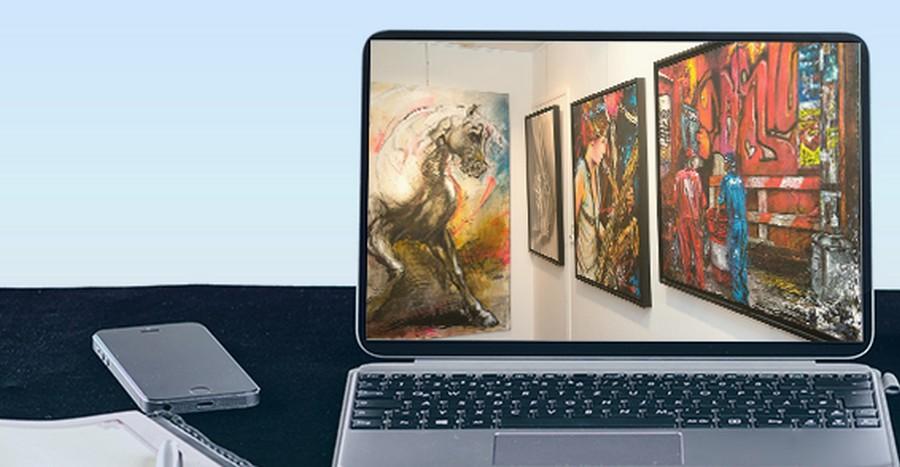 On peut facilement acheter des objets d'art en ligne actuellement
